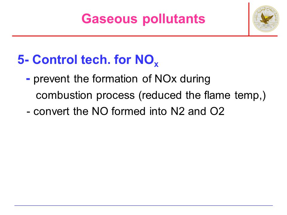 Particulate pollutants 1- cyclones: particle size >10 micrometer