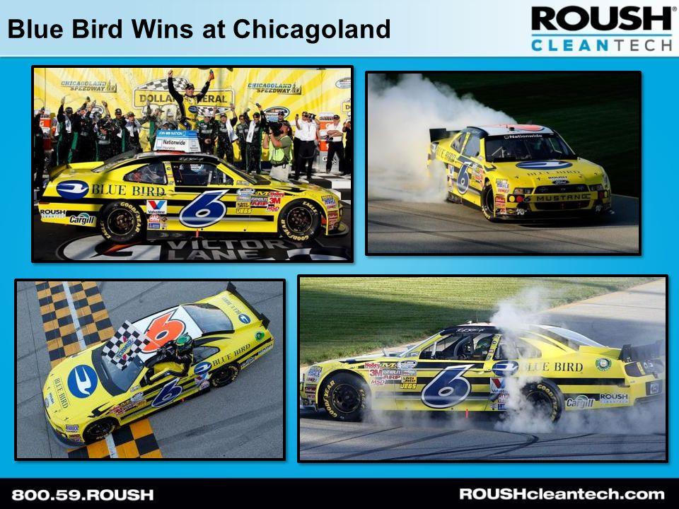 Blue Bird Wins at Chicagoland
