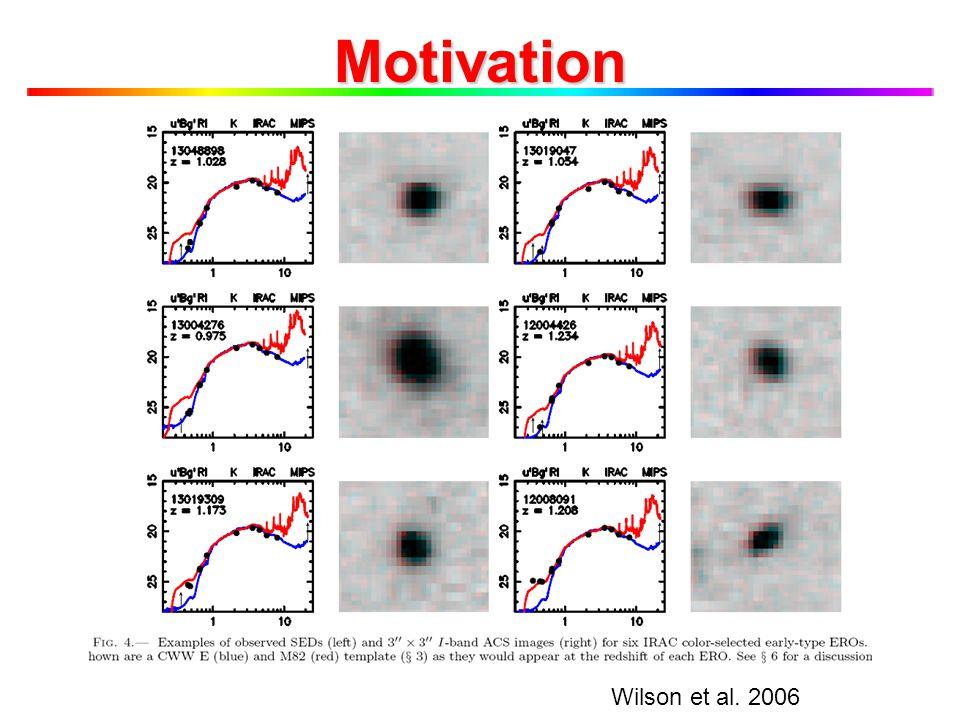 Motivation Wilson et al. 2006