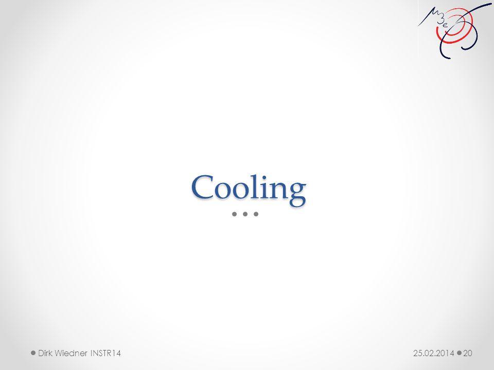 Cooling 25.02.2014Dirk Wiedner INSTR14 20