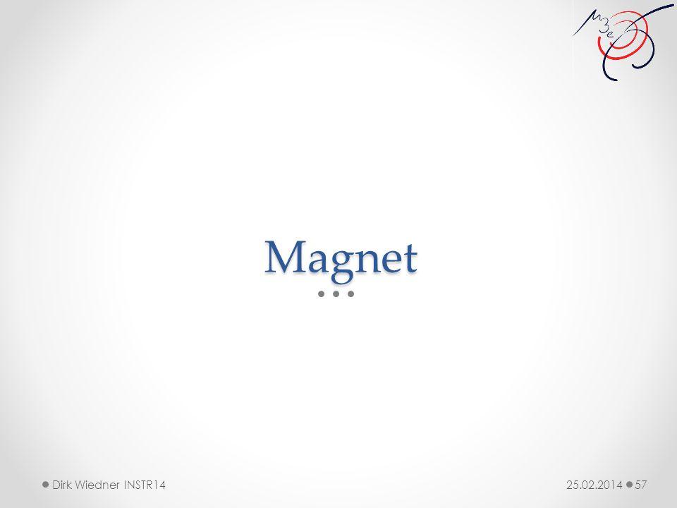 Magnet 25.02.2014Dirk Wiedner INSTR14 57