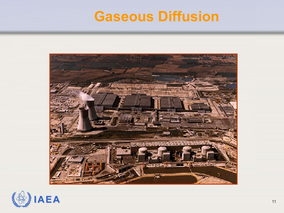 IAEA Gaseous Diffusion 11