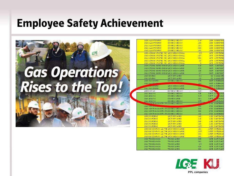 Employee Safety Achievement