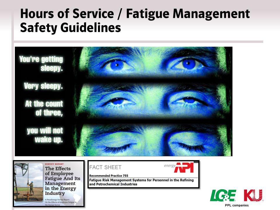 Hours of Service / Fatigue Management Safety Guidelines