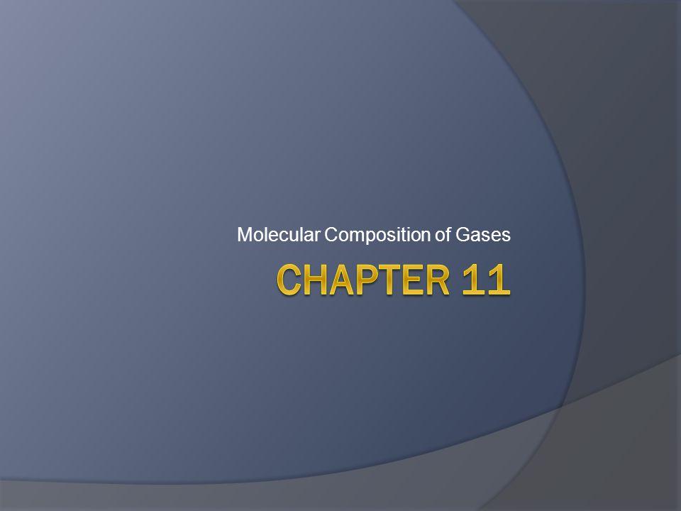 Stoichiometry of Gases