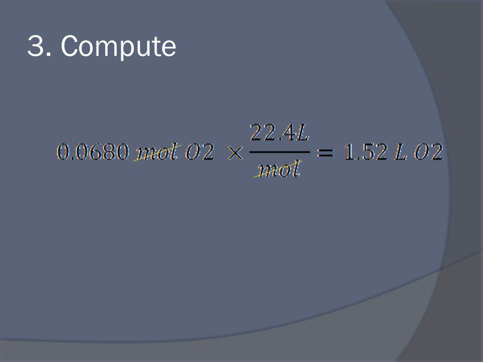 3. Compute