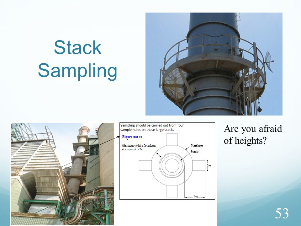 Stack Sampling 53 Are you afraid of heights