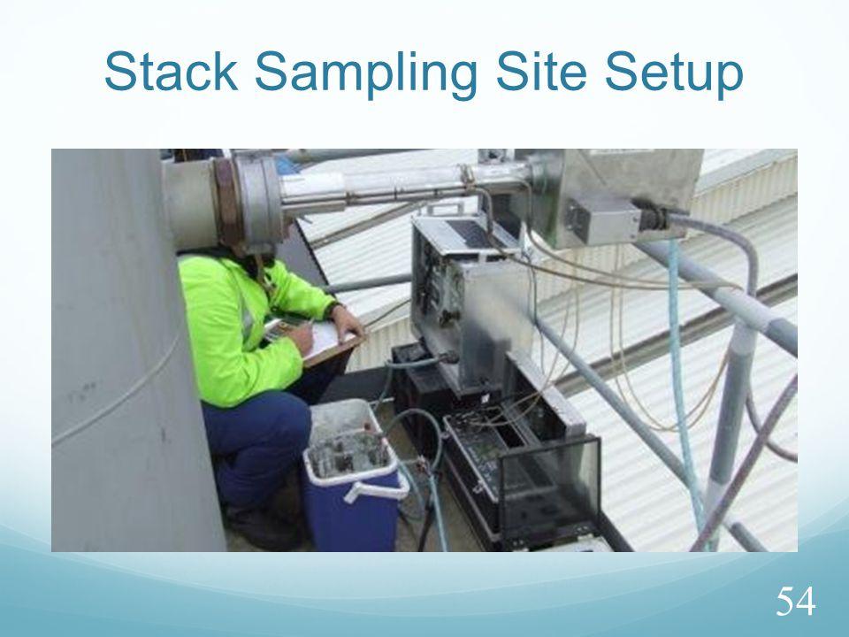 Stack Sampling Site Setup 54