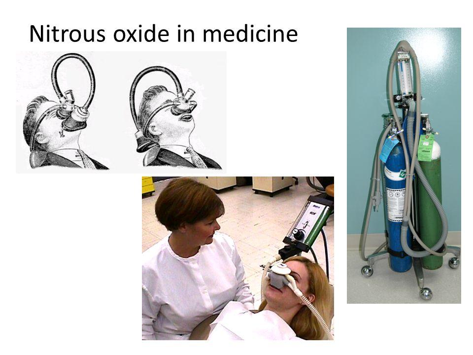 Nitrous oxide in medicine
