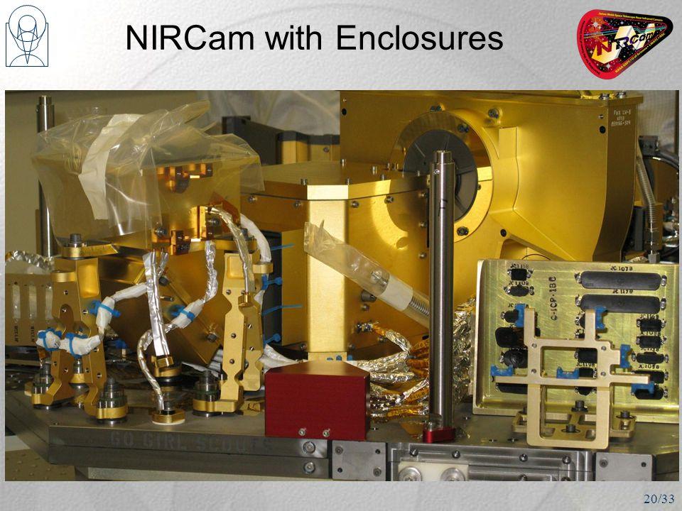 NIRCam with Enclosures 20/33