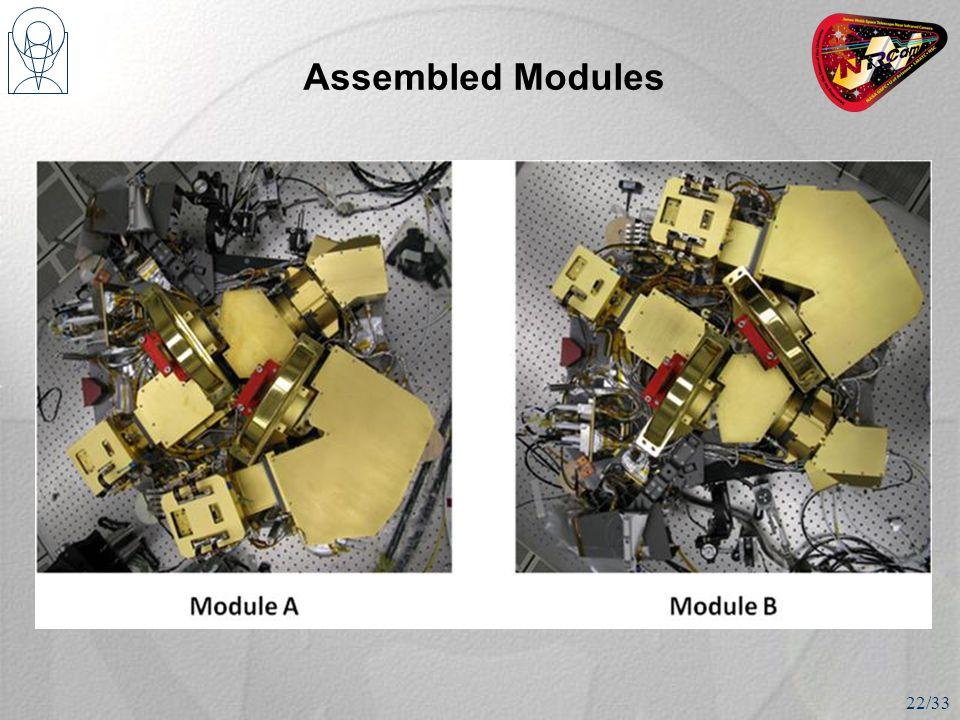 Assembled Modules 22/33