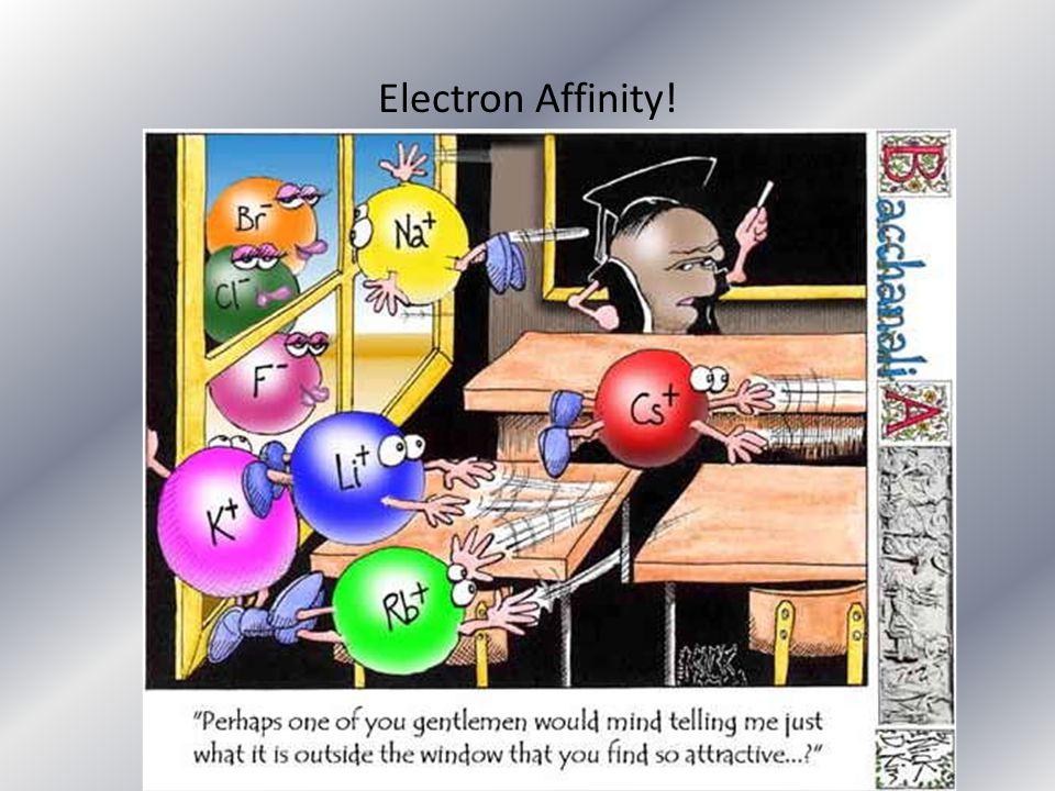Electron Affinity!