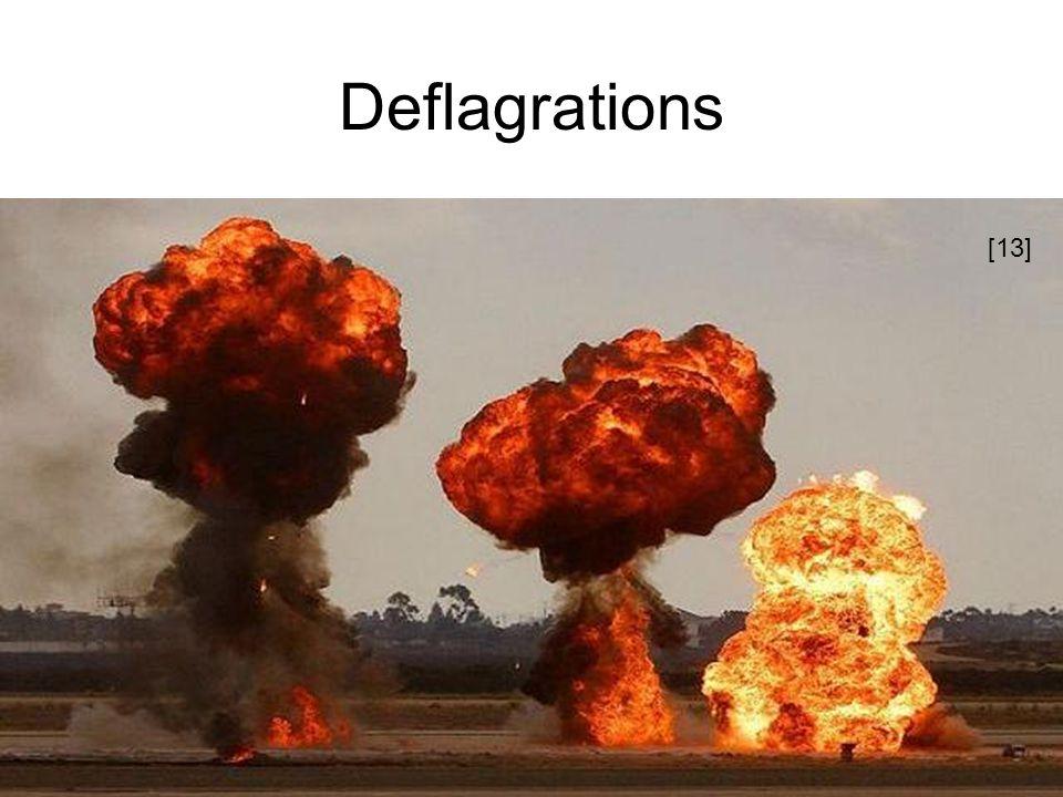 Deflagrations [13]