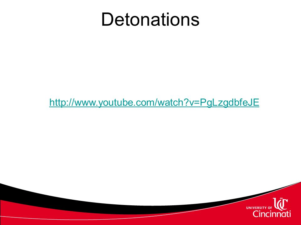 Detonations http://www.youtube.com/watch?v=PgLzgdbfeJE