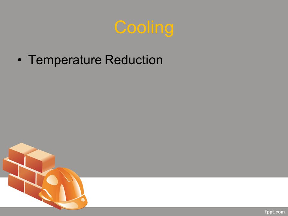 Cooling Temperature Reduction