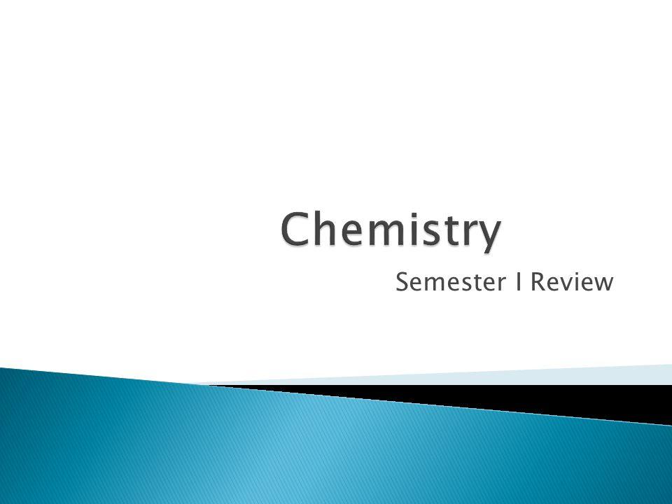 Semester I Review