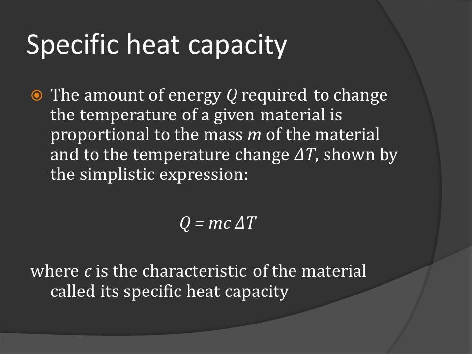 Phase change The specific heat of liquid mercury is 140 Jkg -1 C -1.