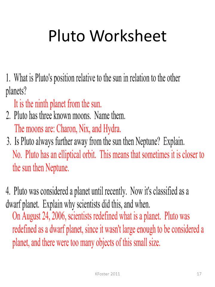 Pluto Worksheet KFoster 201117