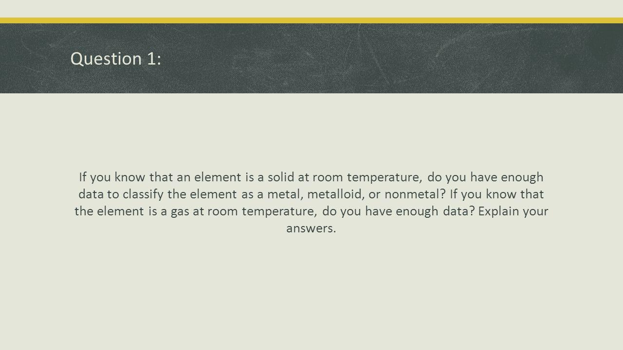 Question 6: Answer Silicon.