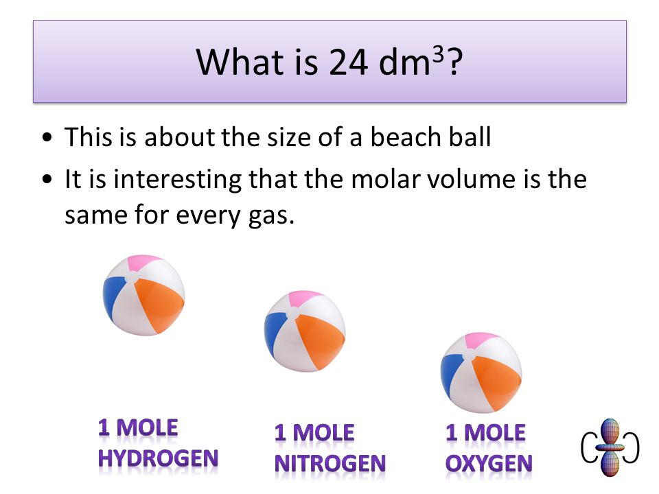 What is 24 dm 3 .