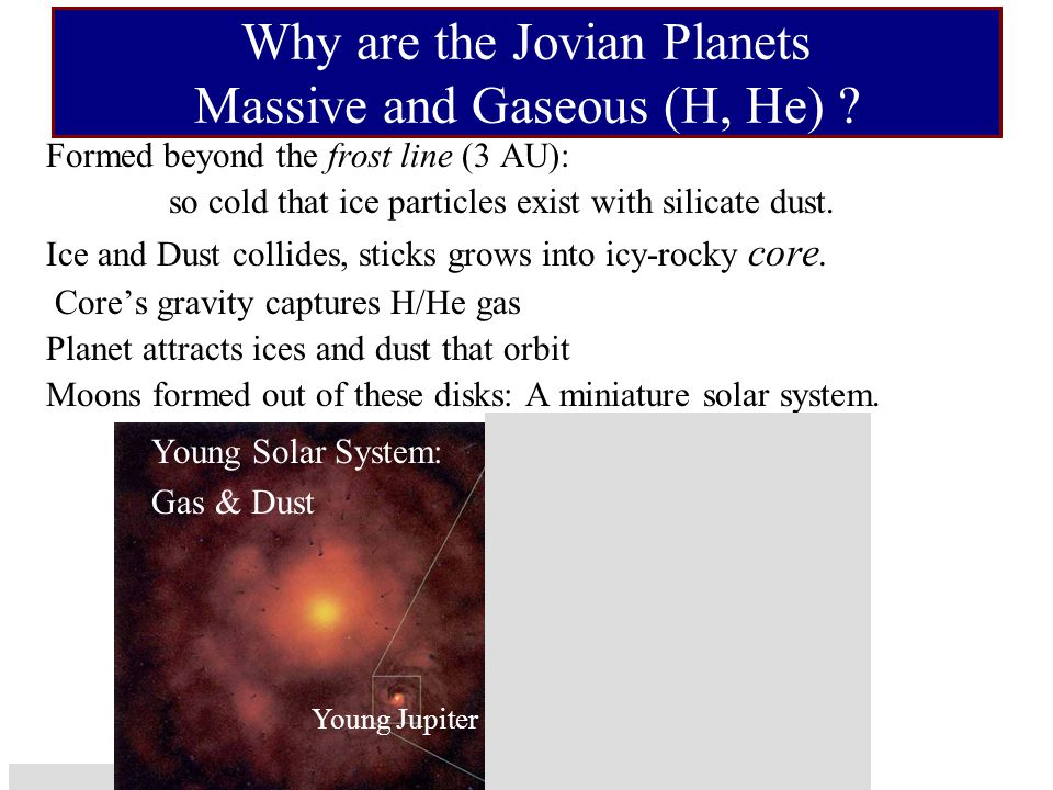 Quiz If Jupiter formed in a protoplanetary disk that had twice as much dust it: (A)Would have a bigger core (B) Might have more hydrogen (C)Might have more metallic hydrogen (D)All of the above