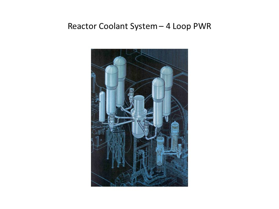Reactor Coolant System – 4 Loop PWR
