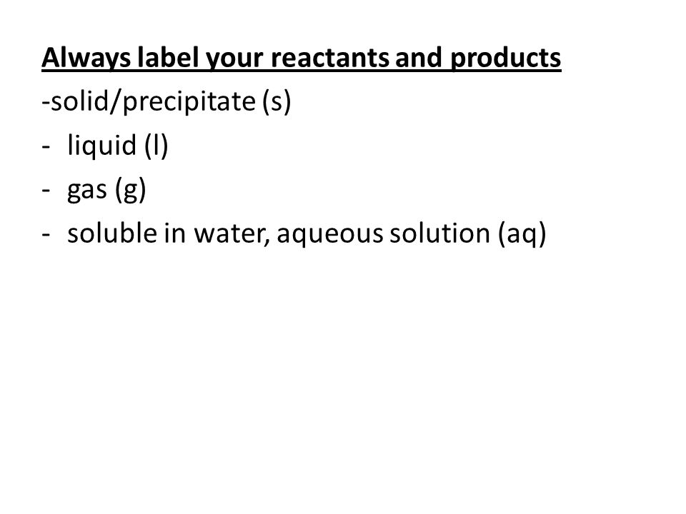Examples of writing chemical equations Solid carbon reacts with gaseous oxygen to form gaseous carbon dioxide.
