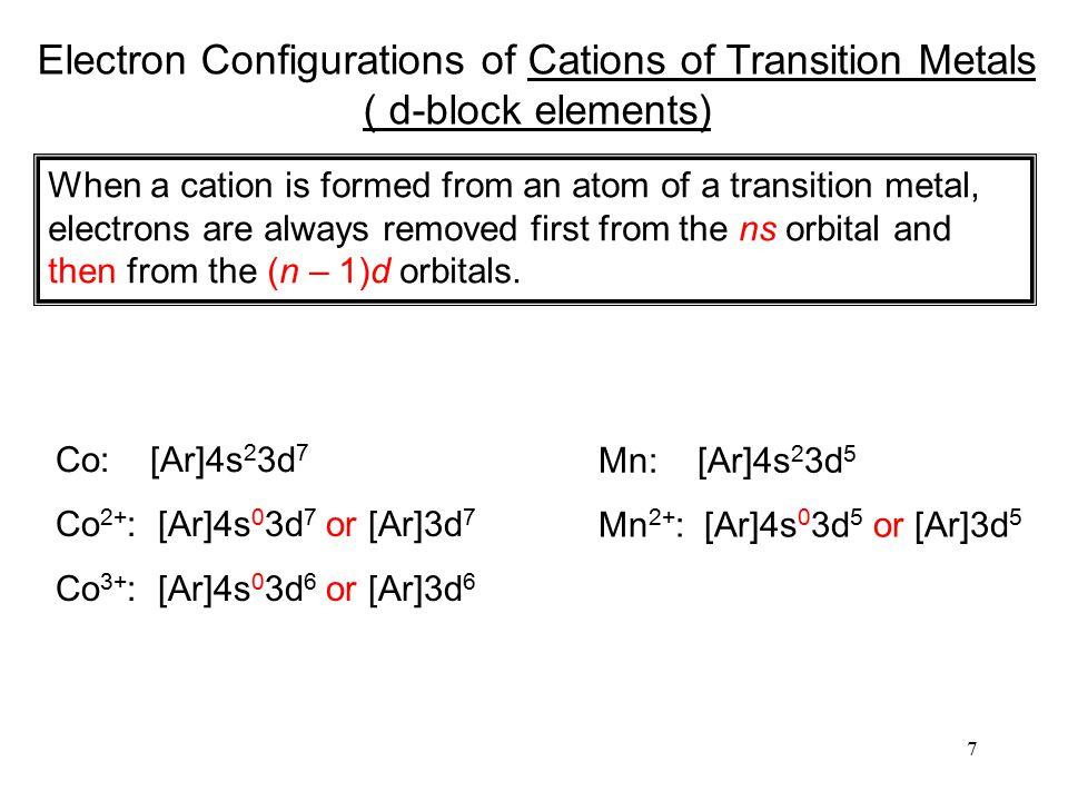 8 Atomic Radii metallic radius covalent radius