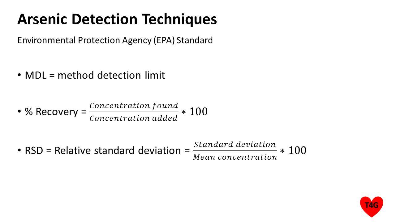Environmental Protection Agency (EPA) Standard