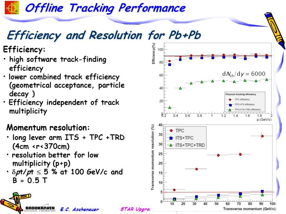 Offline Tracking Performance E.C.