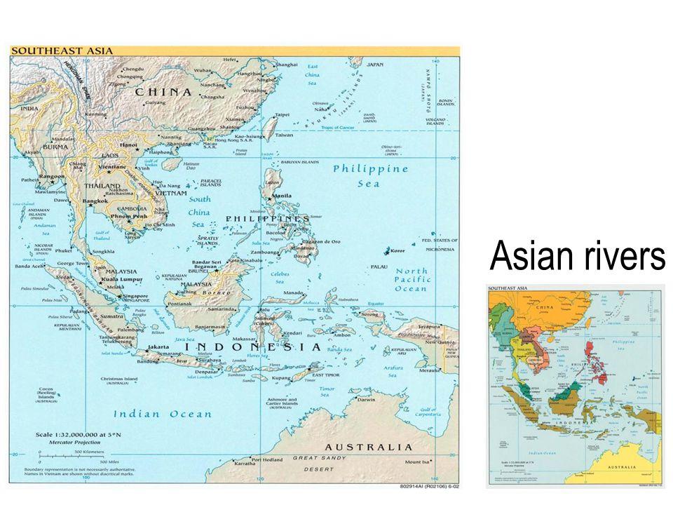 Asian rivers