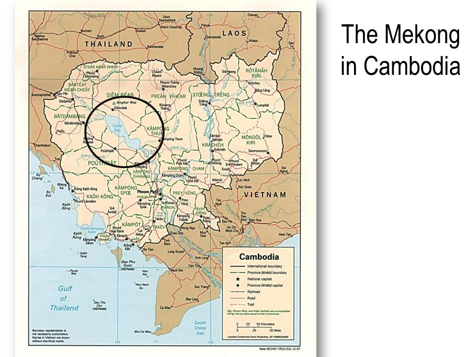 The Mekong in Cambodia