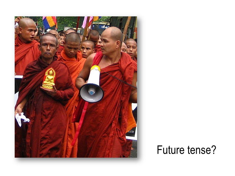Future tense?