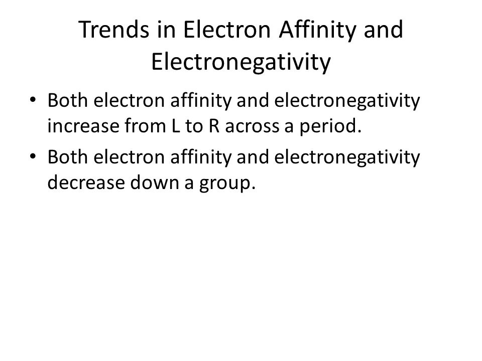 Electronegativity A measure of the ability of an atom in a chemical compound to attract electrons. Fluorine, the most electronegative element, is arbi