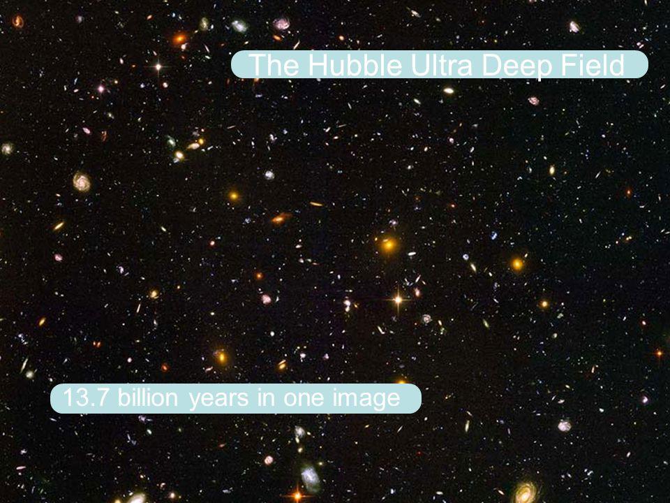 13.7 billion years in one image The Hubble Ultra Deep Field