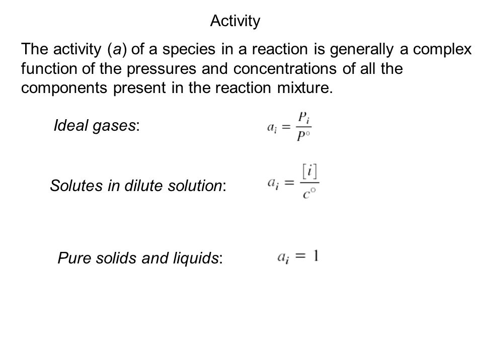 Le Châtelier's Principle Changes in Concentration (continued) ChangeShifts the Equilibrium Increase concentration of product(s)left Decrease concentration of product(s)right Decrease concentration of reactant(s) Increase concentration of reactant(s)right left aA + bB cC + dD