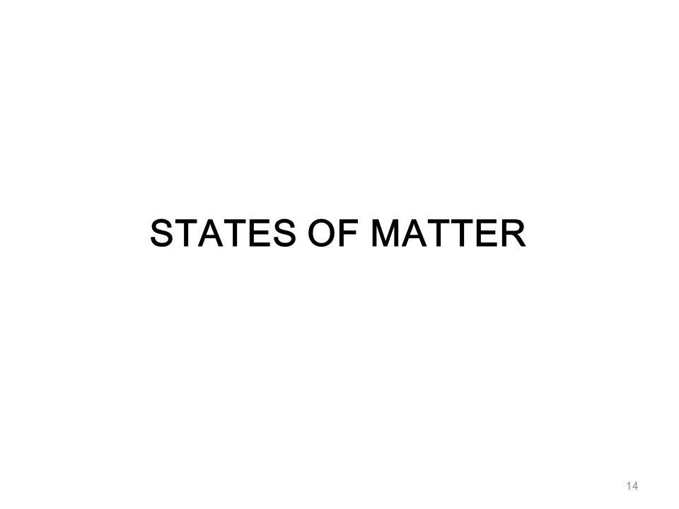 STATES OF MATTER 14
