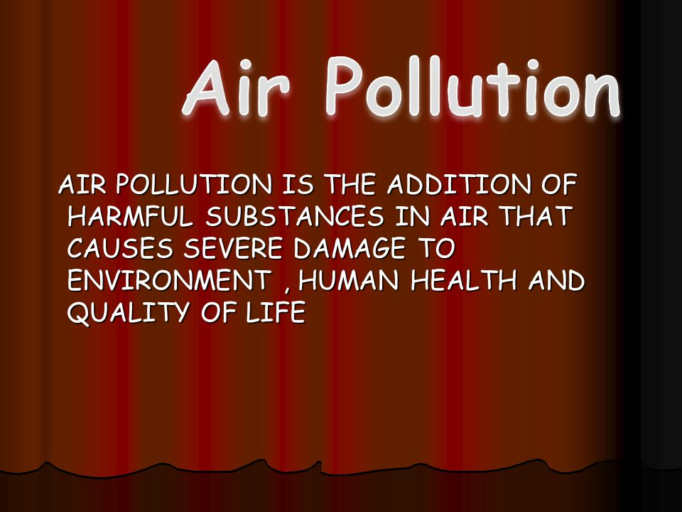 Air Pollution Control Early approach: Dilution is the solution to pollution Particulate removal - air filters Particulate removal - air filters Sulfur removal - scrubbers Sulfur removal - scrubbers Nitrogen oxide reduction - catalytic converters Nitrogen oxide reduction - catalytic converters Hydrocarbon controls - afterburners Hydrocarbon controls - afterburners 12
