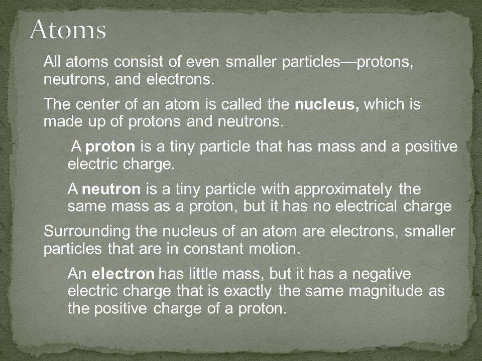 In this representation of an atom, the fuzzy area surrounding the nucleus is referred to as an electron cloud.