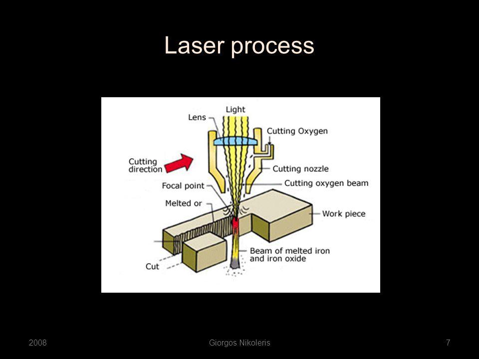 Laser process 2008Giorgos Nikoleris7