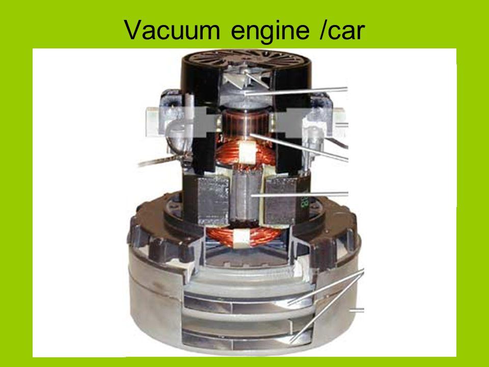 Vacuum engine /car