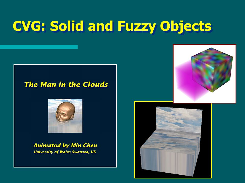 CVG: Solid and Fuzzy Objects
