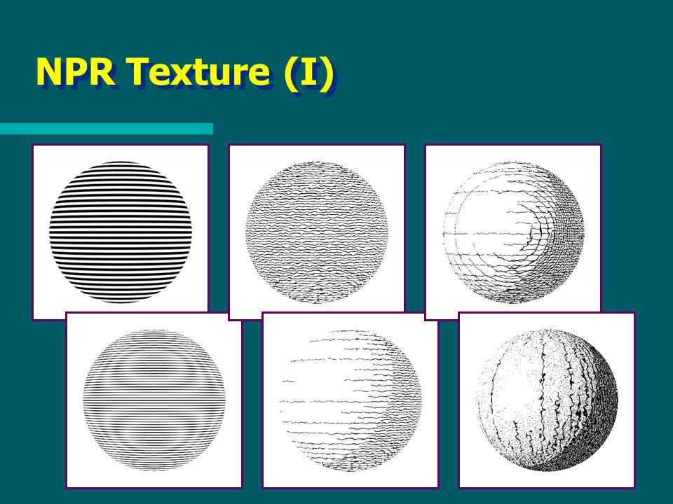 NPR Texture (I)