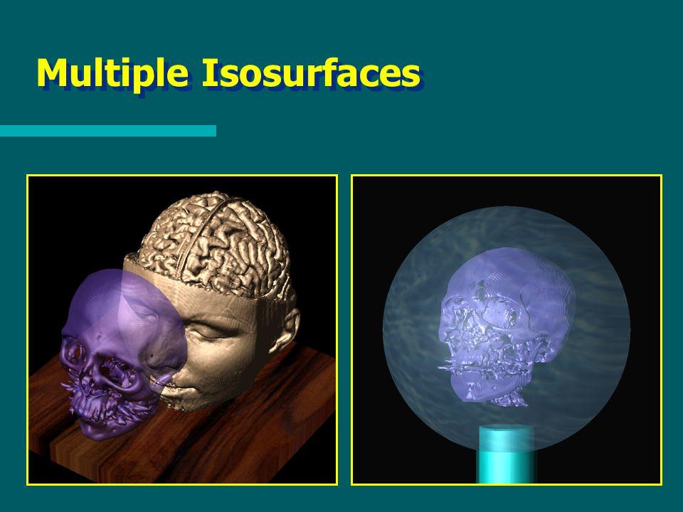 Multiple Isosurfaces