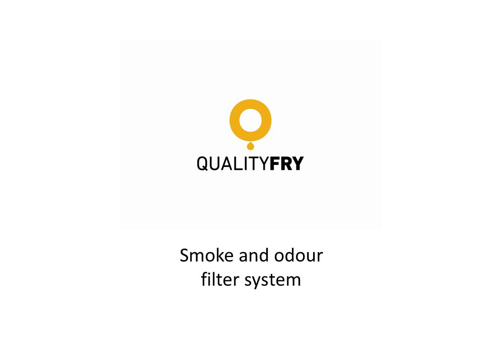 Smoke and odour filter system
