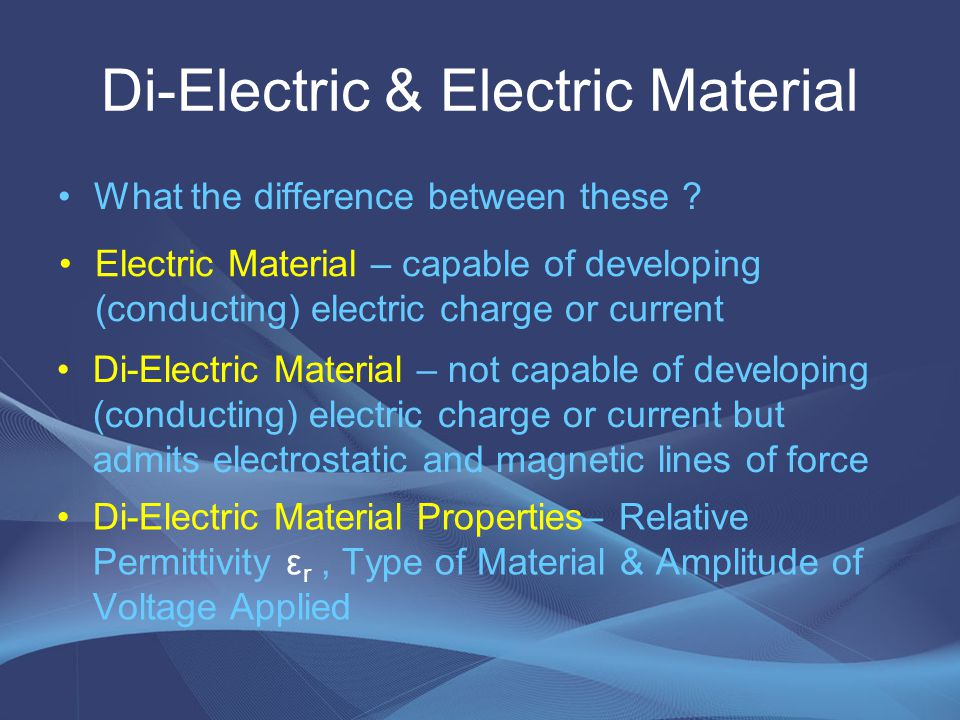 Electrical Breakdown Failure of Electrical Insulation Properties (flow of current) of an Insulator or Di-electric Local Breakdown confined locally to a part of an Insulator (Partial Breakdown) Global Breakdown complete rupture or failure of insulator properties (Electrical Breakdown)