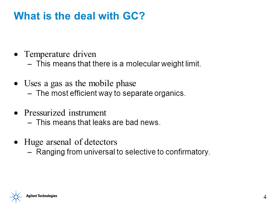 5 Innovation of GC Technology Fused Silica Capillary Columns – 1979.