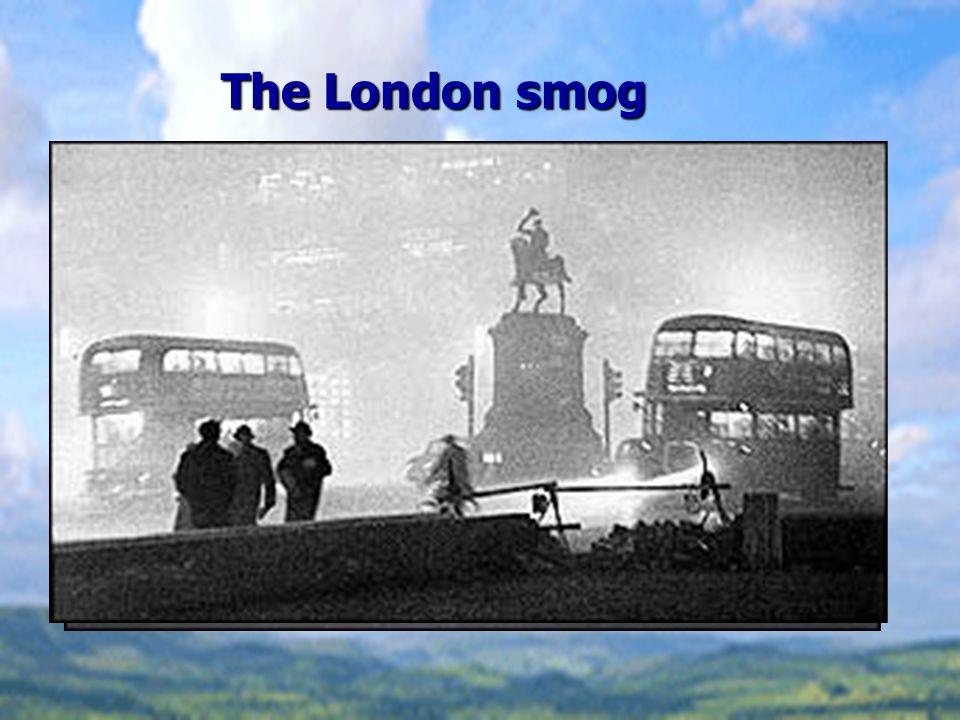 The London smog
