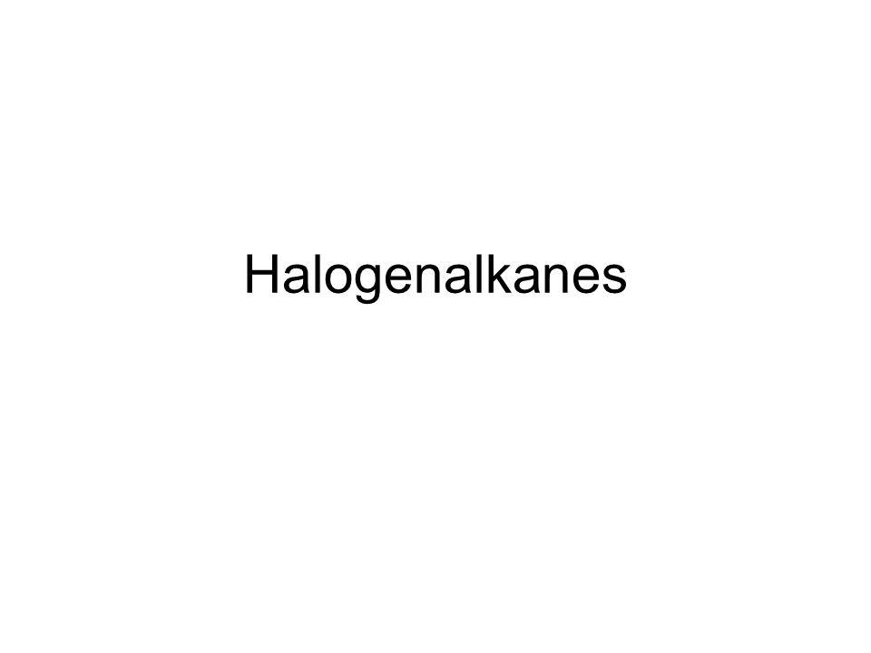 Halogenalkanes