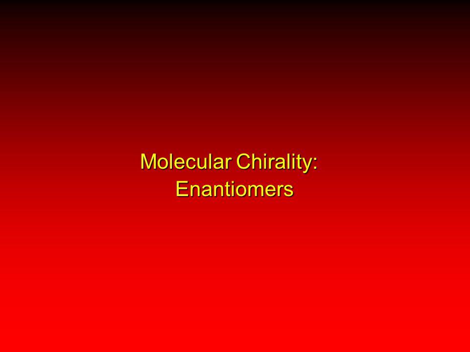 Molecular Chirality: Enantiomers